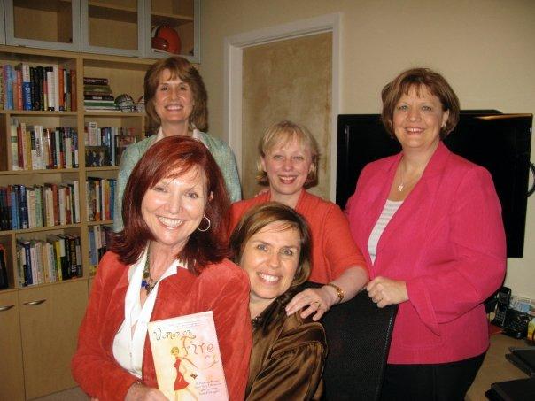 Clockwise from front Patty Wynn Brown, Kacy Branstetter, Jan Allen, Andrea Dowding, Debbie Phillips Founder