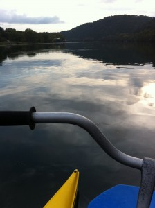 View from the bike