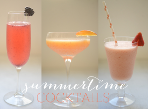 3 Summertime Cocktails from Cupcakes and Cashmere