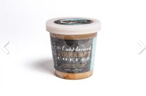 Steve's Ice Cream- VEGAN, GLUTEN FREE Cinnamon Coffee Flavored