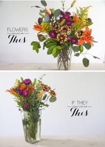 DIY flower arranging- House of Earnest