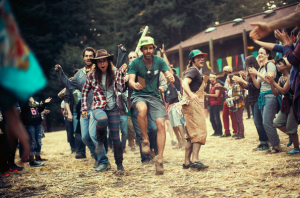 Get Grounded at camp for adults- photo courtesey of Scott Sporiedor featured in New York TImes
