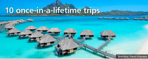 10 once in a lifetime trips from TripAdvisor