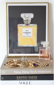 Chanel No 5 print by MadeByGirl