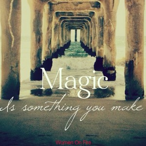 Magic is something you make- Learn how to make more magic in your rleationships with the 6x6 trick @debbiephillips.com