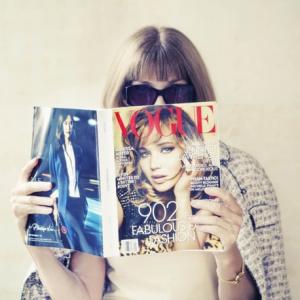 Anna Wintour in her first Voguestagram via @voguemagazine