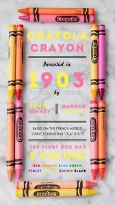 The Birth of Crayola Crayons via DesignSponge