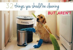 32 things you should be cleaning but aren't via buzzfeed