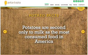 POTATOPIA- restaurant in NYC all about spuds