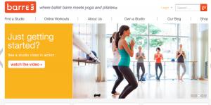 Barre3- best Virtual workout classes