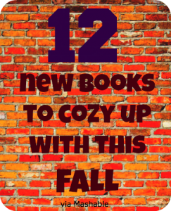 12 new books to cozy up with this Fall from Mashable