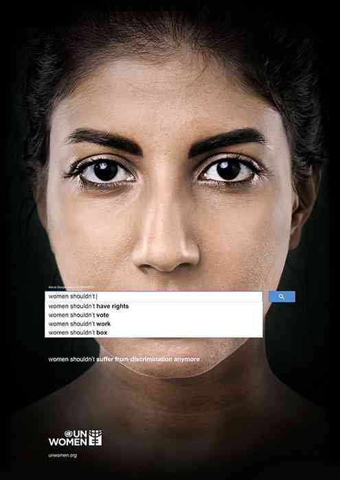 New Ad Campaign by The United Nations for Women Equality
