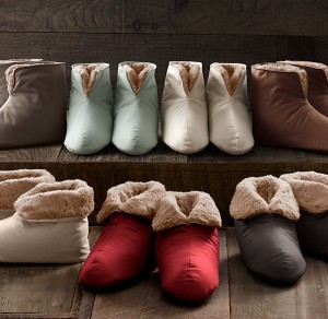 Slippers from Restoration Hardware