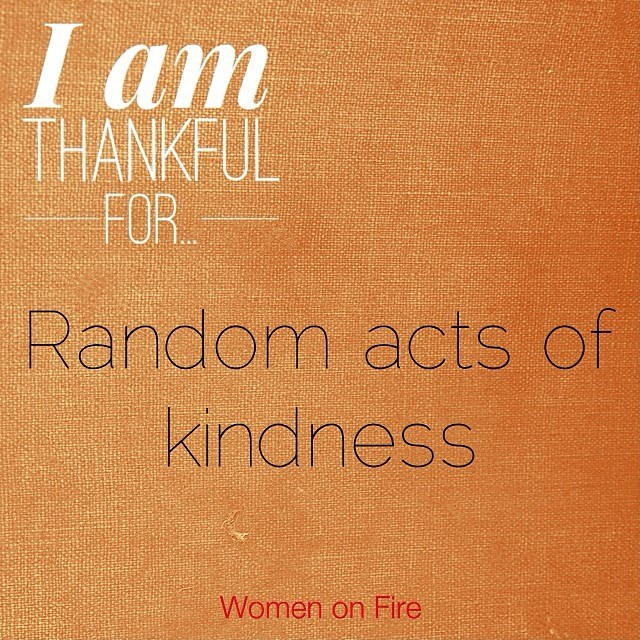 Women on Fire 21 Days To Give Thanks #wofgivethanks