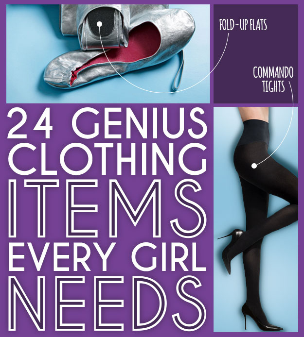 24 Genius Clothing Items Every Girl Needs by Peggy Wang from Buzzfeed