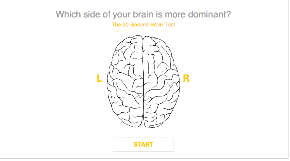 The 30 Second Brain Test