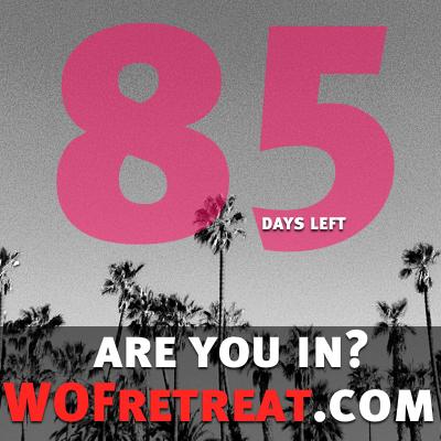 Treat yourself- www.wofretreat.com