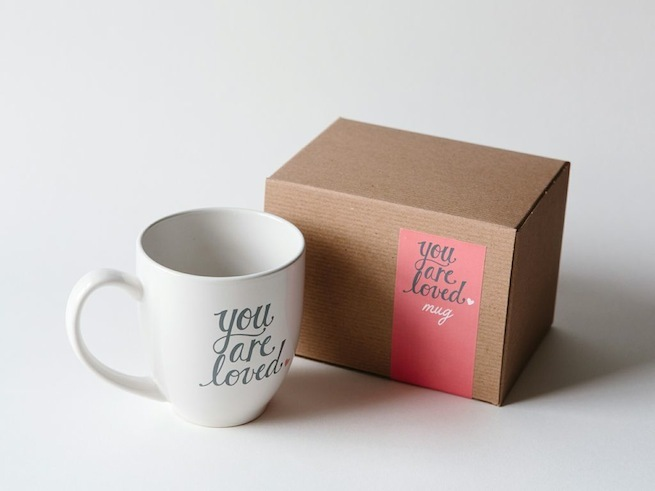 You are loved Mug from Pink Olive