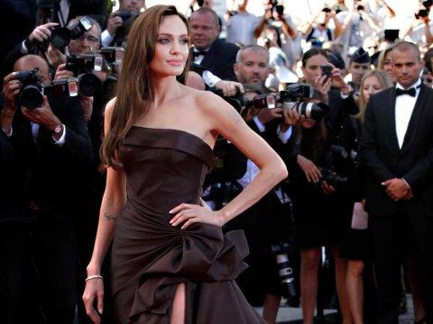 Angelina Jolie  #5 on Women on Fire's list of the 10 Women who set 2013 On Fire AP Joel Ryan