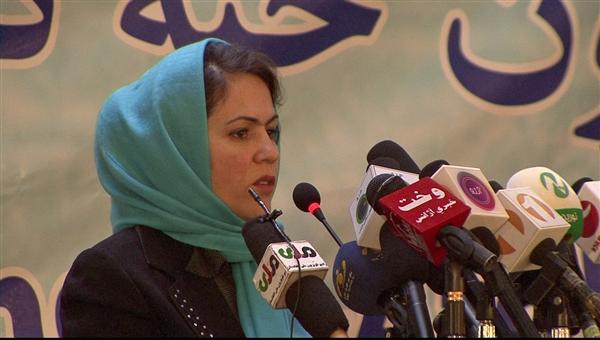 Fawzia Koofi #4 on Women on Fire's list of the 10 Women who set 2013 On Fire NBC News Rasheed Turkmen