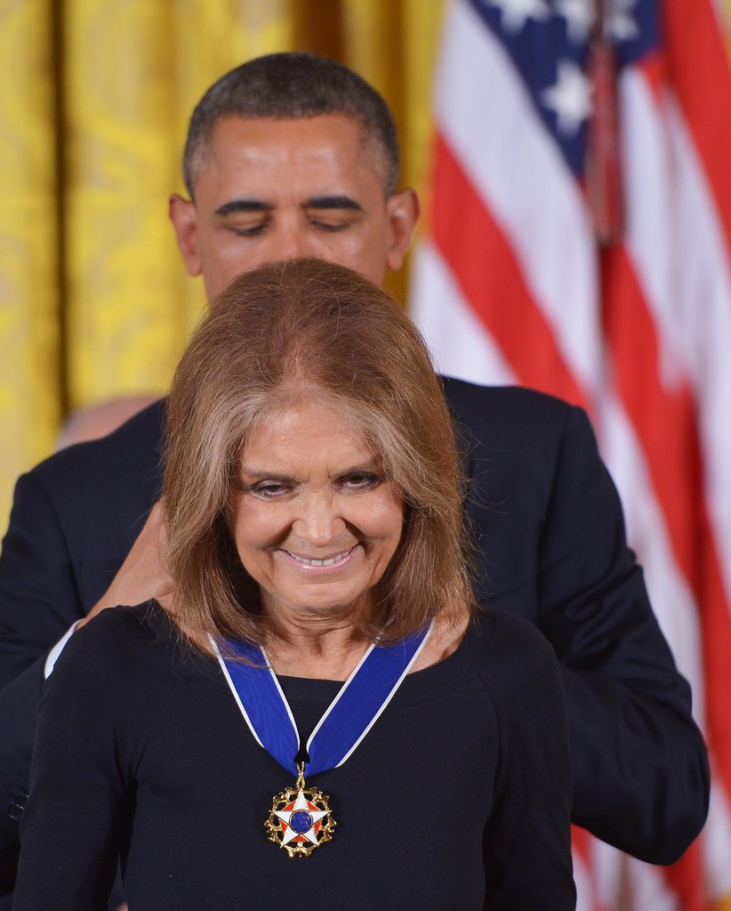 Gloria Steinem  #6 on Women on Fire's list of the 10 Women who set 2013 On Fire Getty Images Mandel Ngan