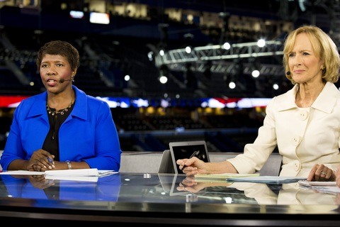 Gwen Ifill and Judy Woodruff #9 on Women on Fire's list of the 10 Women who set 2013 On Fire