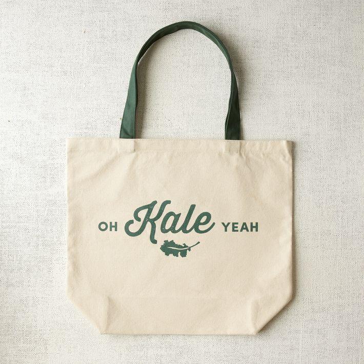 Oh Kale Yeah tote bag by West Elm