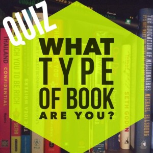 QUIZ- What type of book are you?