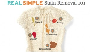 Real Simple Stain Remoal 101