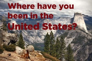 Where in the United States have you been- Adam Davis