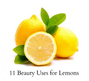 11 Beauty Uses for Lemons via Women's Health