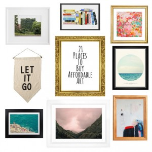 21 Places to buy affordable art- Jessica Probus