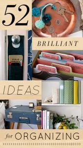 52 ideas for organizing via design sponge