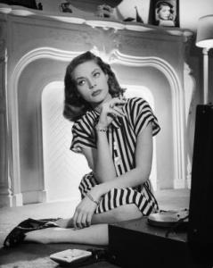 Lauren Bacall by Rale Crane GETTY