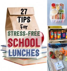 27 school lunch tips via RachelSanders