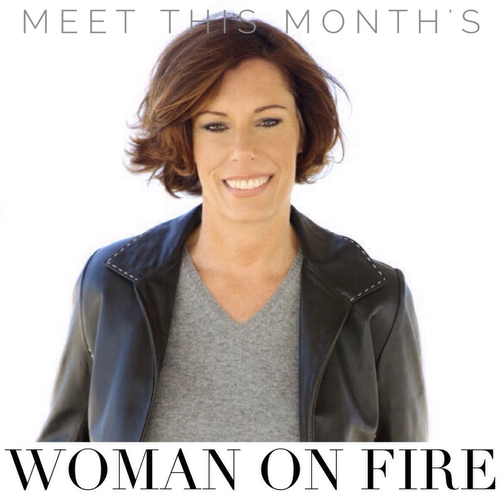 She's a Woman on Fire! Michelle Tenzyk