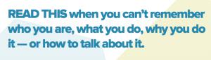 Alexandra Franzen- How to explain what you do