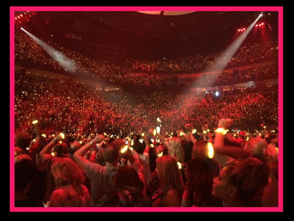 Oprah crowd