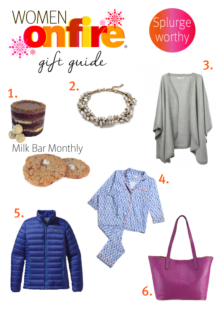 Women on Fire Gift Guide Splurge worthy