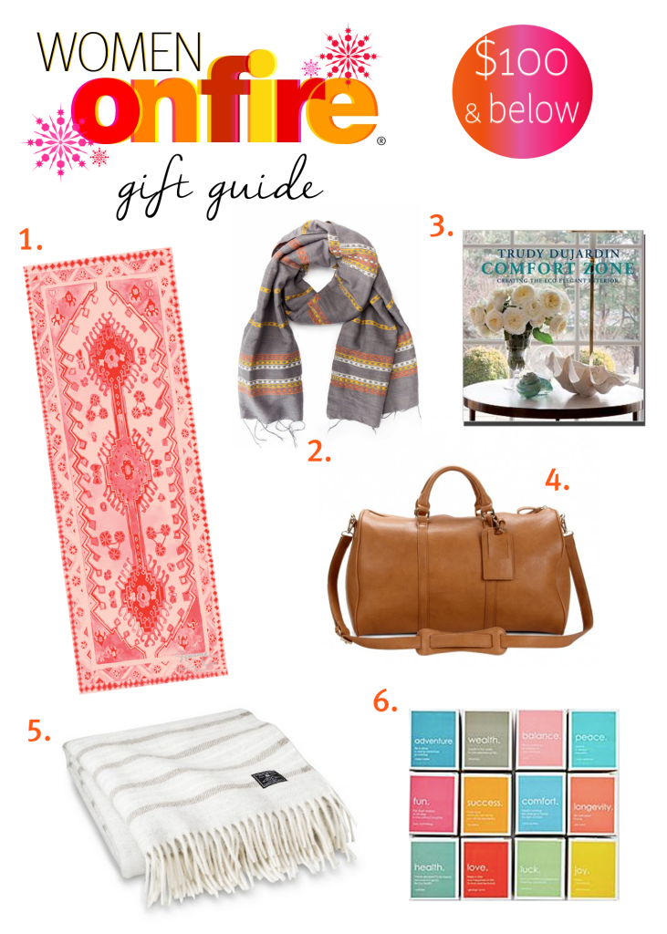 Women on Fire gift guide 100 below