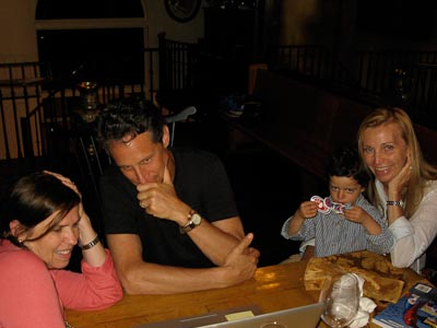 Dr. Mark Hyman, Dr. Pier Boutin, Debbie Phillips and Little Amed