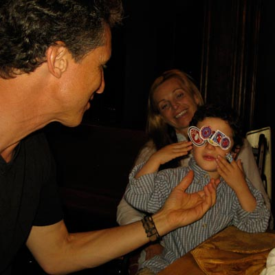 Dr. Mark Hyman, Dr. Pier Boutin and Little Amed