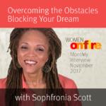 November 2017 Sneak Peek Interview with Sophfronia Scott