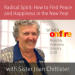 January 2018 Sneak Peek Interview with Joan Chittister