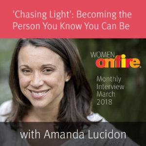 WOF March Sneak Peak Interview with Amanda Lucidon
