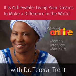 WOF Sneak Peek May - Dr. Tererai Trent