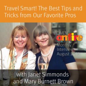 Janet Simmonds and Mary Burnett Brown